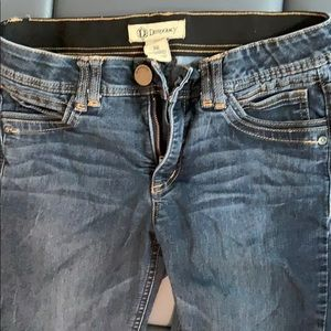 Democracy skinny jeans with Ab technology/Like new